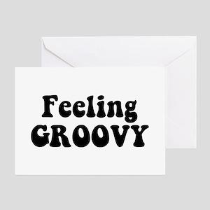 Feeling Groovy Greeting Card