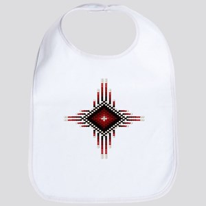 Native Style Red Radiant Sun Bib