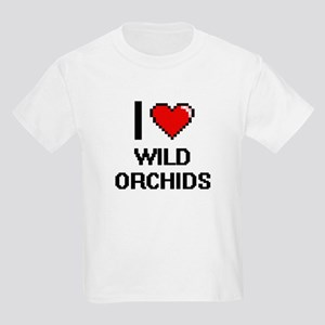 I love Wild Orchids digital design T-Shirt