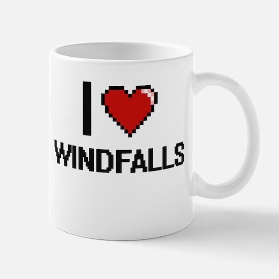 I love Windfalls digital design Mugs