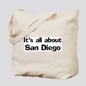 About San Diego Tote Bag