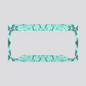 girly turquoise barn wood License Plate Holder