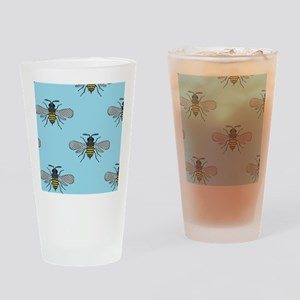 antique bees Drinking Glass