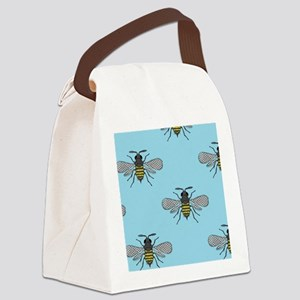 antique bees Canvas Lunch Bag