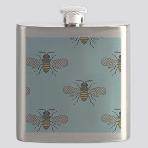 antique bees Flask