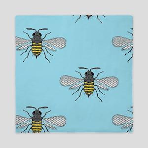 antique bees Queen Duvet