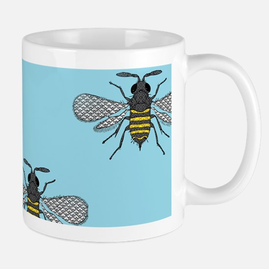 antique bees Mugs