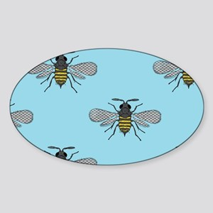 antique bees Sticker