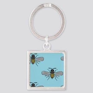 antique bees Keychains