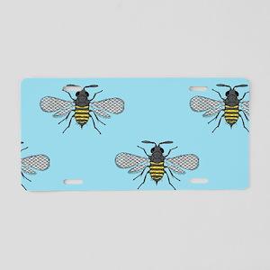 antique bees Aluminum License Plate