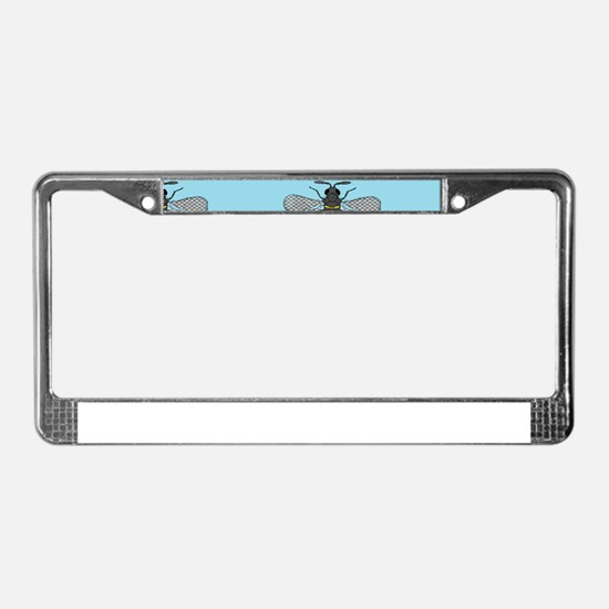 antique bees License Plate Frame