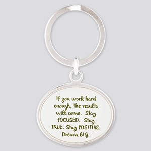 Eye On The Prize Dream BIG Design Keychains