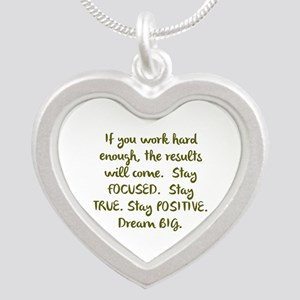 Eye On The Prize Dream BIG Design Necklaces