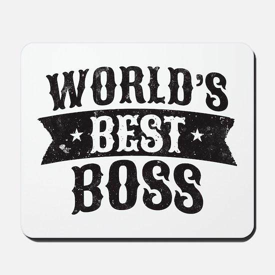 World's Best Boss Mousepad