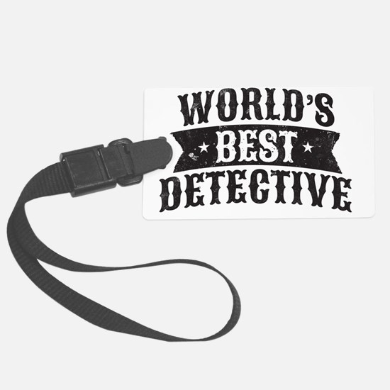 World's Best Detective Luggage Tag