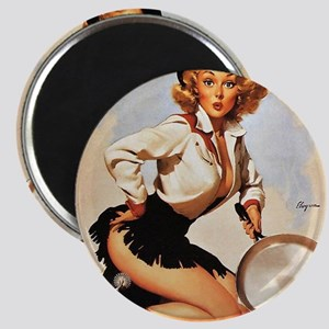 Pin Up: Cowgirl ! Magnet