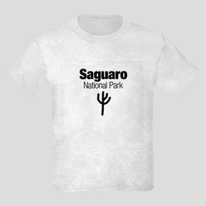 Saguaro National Park (Doodle) Kids Light T-Shirt