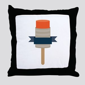 Push Up Popsicle Throw Pillow