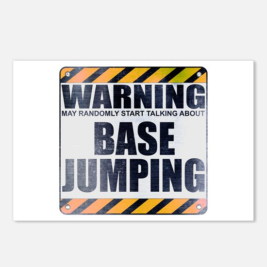 Warning: Base Jumping Postcards (Package of 8)