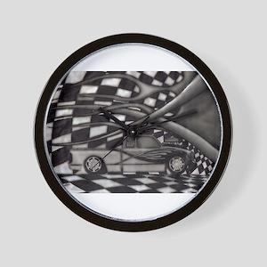 Lowered Toyota Wall Clock
