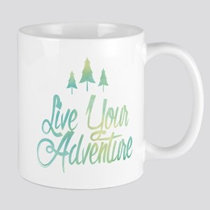 Live Your Adventure Mugs