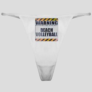 Warning: Beach Volleyball Classic Thong