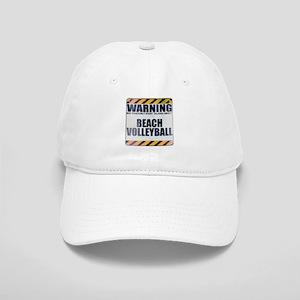 Warning: Beach Volleyball Cap