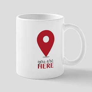 You Are Here Mugs