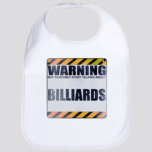 Warning: Billiards Bib
