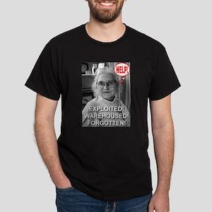 Help! Exploited! Warehoused! Dark T-Shirt