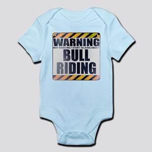 Warning: Bull Riding Infant Bodysuit