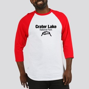 Crater Lake National Park (Doodle) Baseball Jersey