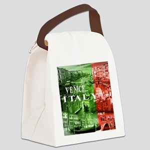 VENICE ITALY CANALS Canvas Lunch Bag