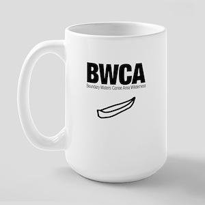 Boundary Waters Canoe Area (Doodle) Large Mug