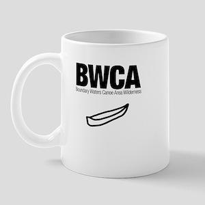 Boundary Waters Canoe Area (Doodle) Mug