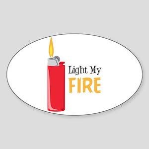 Light My Fire Sticker