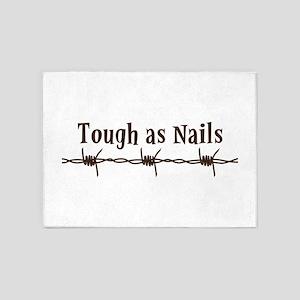 Tough As Nails 5'x7'Area Rug