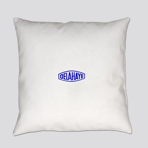Antique cars logo Everyday Pillow