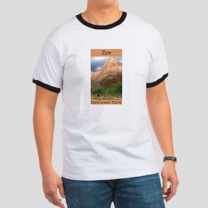 Zion National Park (Vertical) Ringer T
