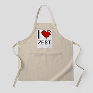 I love Zest digital design Apron