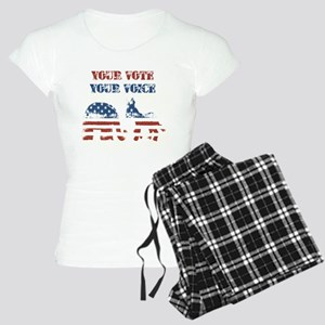 Your Vote Your Voice Women's Light Pajamas