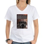 Mad Maxx Productions Women's V-Neck T-Shirt