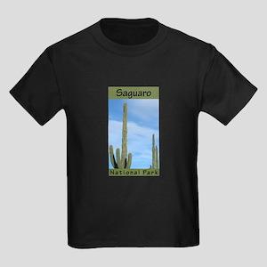 Saguaro National Park (Vertic Kids Dark T-Shirt