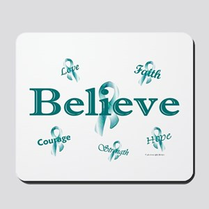 Courage, Hope, Strength, Faith 3 (OC) Mousepad