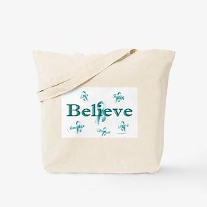Courage, Hope, Strength, Faith 3 (OC) Tote Bag