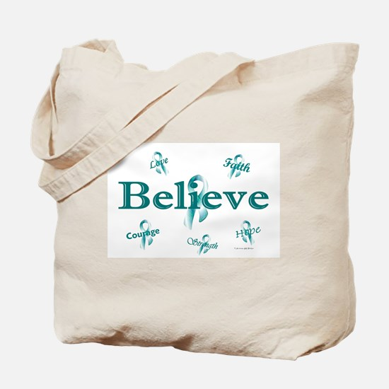 Courage, Hope, Strength, Faith 3 (OC) Tote Bag