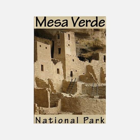 Mesa Verde National Park (Ver Rectangle Magnet