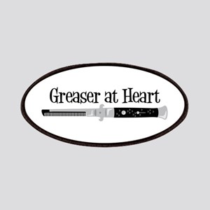 Greaser At Heart Patch