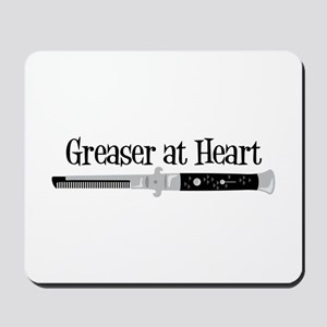 Greaser At Heart Mousepad