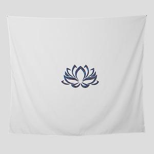 Lotus Mixed Colors Wall Tapestry